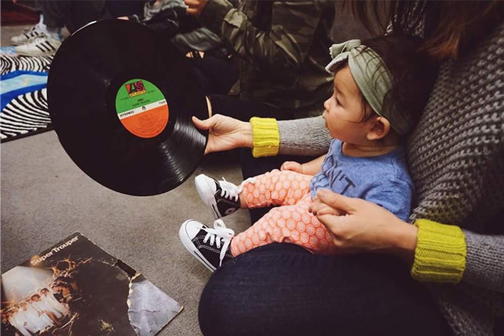 Baby DJ School LA (at Larchmont Village: Snooknuk)