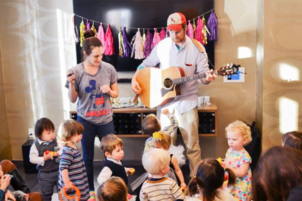 Andy & Suzanna Kids Music (at Karma Kids Yoga)