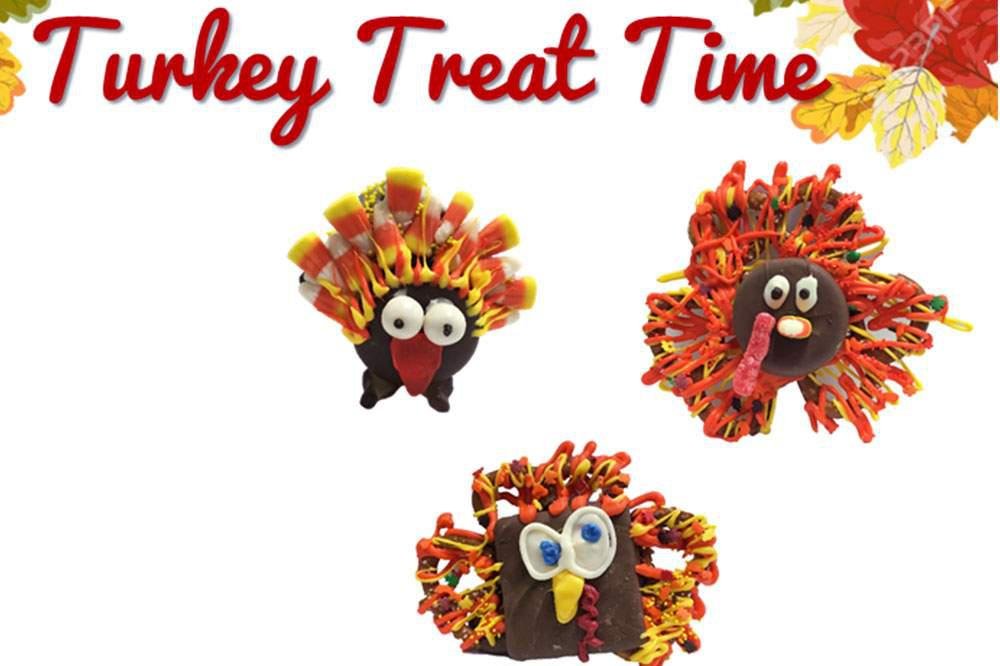 Tasty Turkey Treat Time