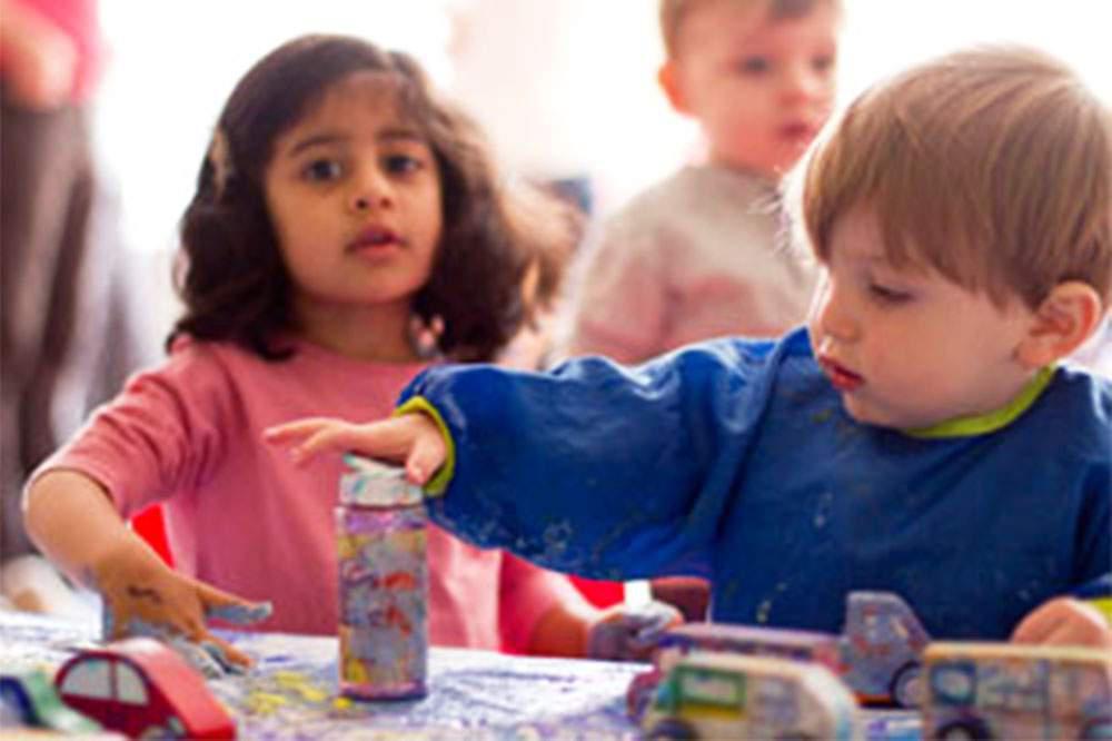Kids at Work (at Babies R Us)