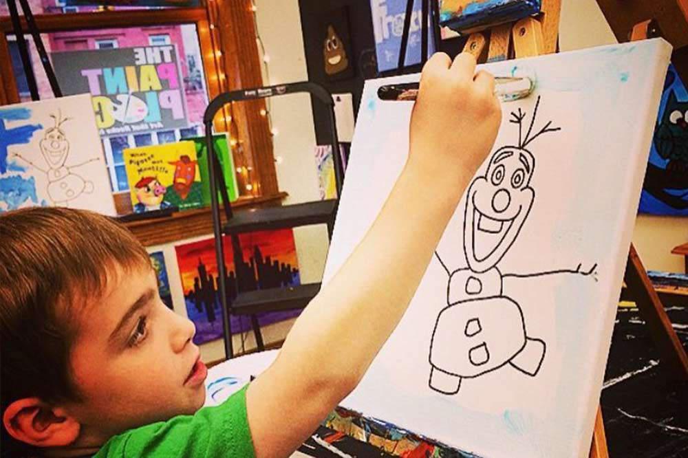 Kids Painting Camp