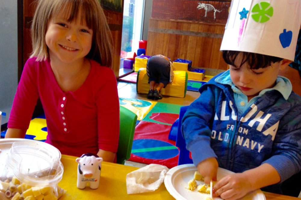 The Creative Kitchen (After School Snack Class)